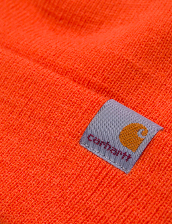 Carhartt-WIP Stratus Low Beanie Hat - Clockwork Orange