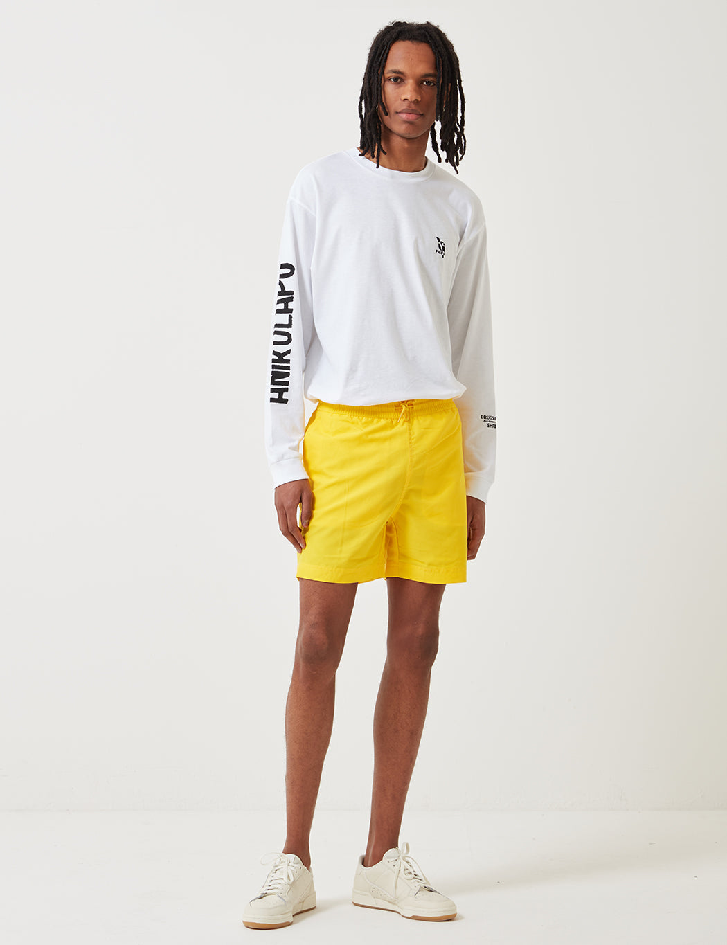 341b7a7921 Carhartt Chase Swim Shorts - Primula Yellow | URBAN EXCESS.