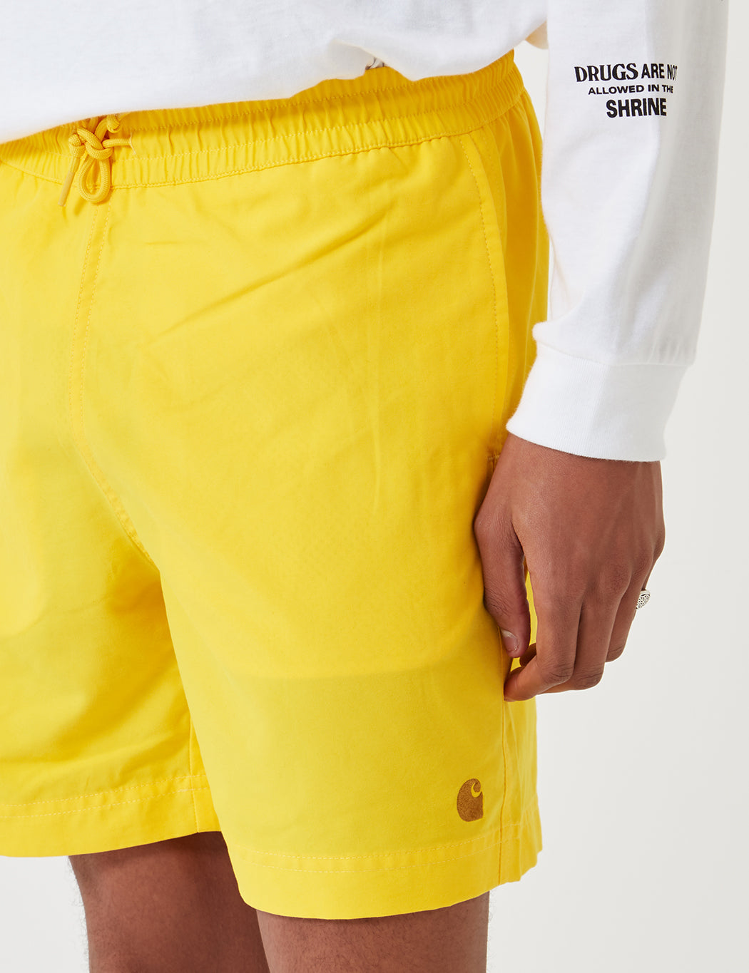 aaf8e91bb9 Carhartt Chase Swim Shorts - Primula Yellow | URBAN EXCESS.