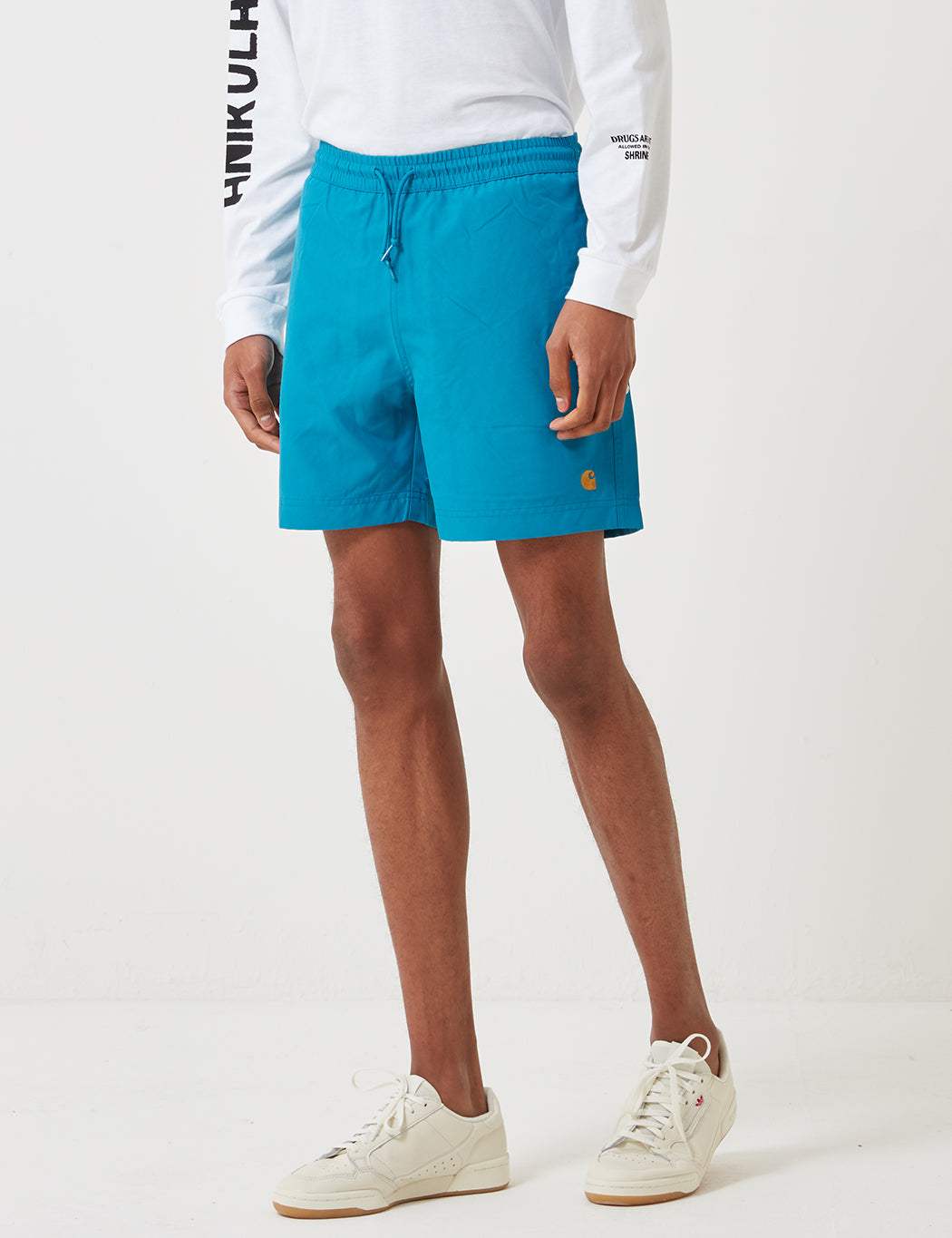 520d18711e Carhartt Chase Swim Shorts - Pizol Blue | URBAN EXCESS.