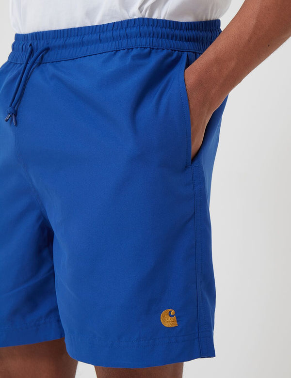 Carhartt-WIP Chase Swim Shorts - Submarine Blue