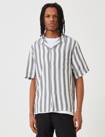 Carhartt Esper Stripe Shirt - Black