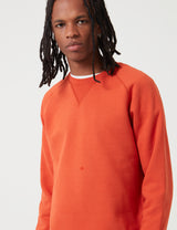 Carhartt-WIP Chase Sweatshirt - Brick Orange