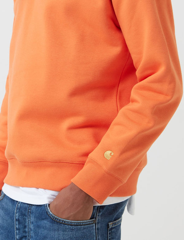 Carhartt-WIP Chase Sweatshirt - Clockwork Orange