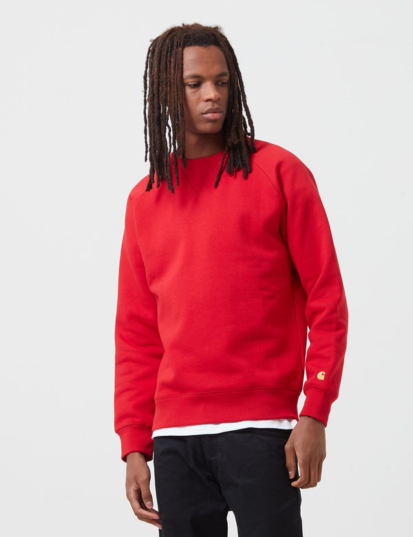 Sweat Carhartt-WIP Chase - Etna Red