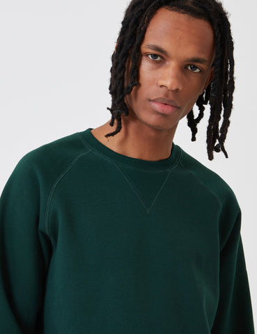 Carhartt Chase Sweatshirt - Bottle Green