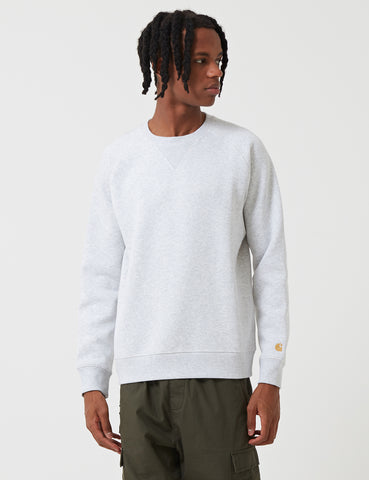 Carhartt Chase Sweatshirt - Ash Heather Grey