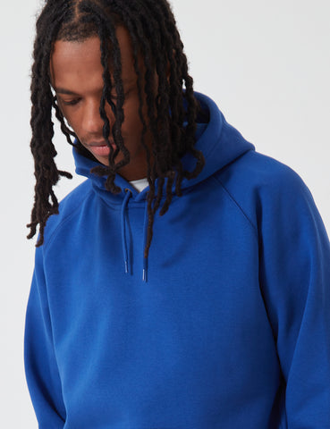 Carhartt-WIP Hooded Chase Sweatshirt - Submarine Blue