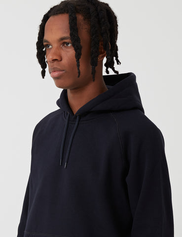 Carhartt Chase Hooded Sweatshirt - Dark Navy Blue