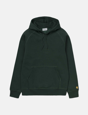 Carhartt Chase Hooded Sweatshirt - Bottle Green