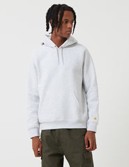 Carhartt Chase Hooded Sweatshirt - Ash Heather Grey