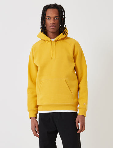 Carhartt Chase Hooded Sweatshirt - Quince Yellow