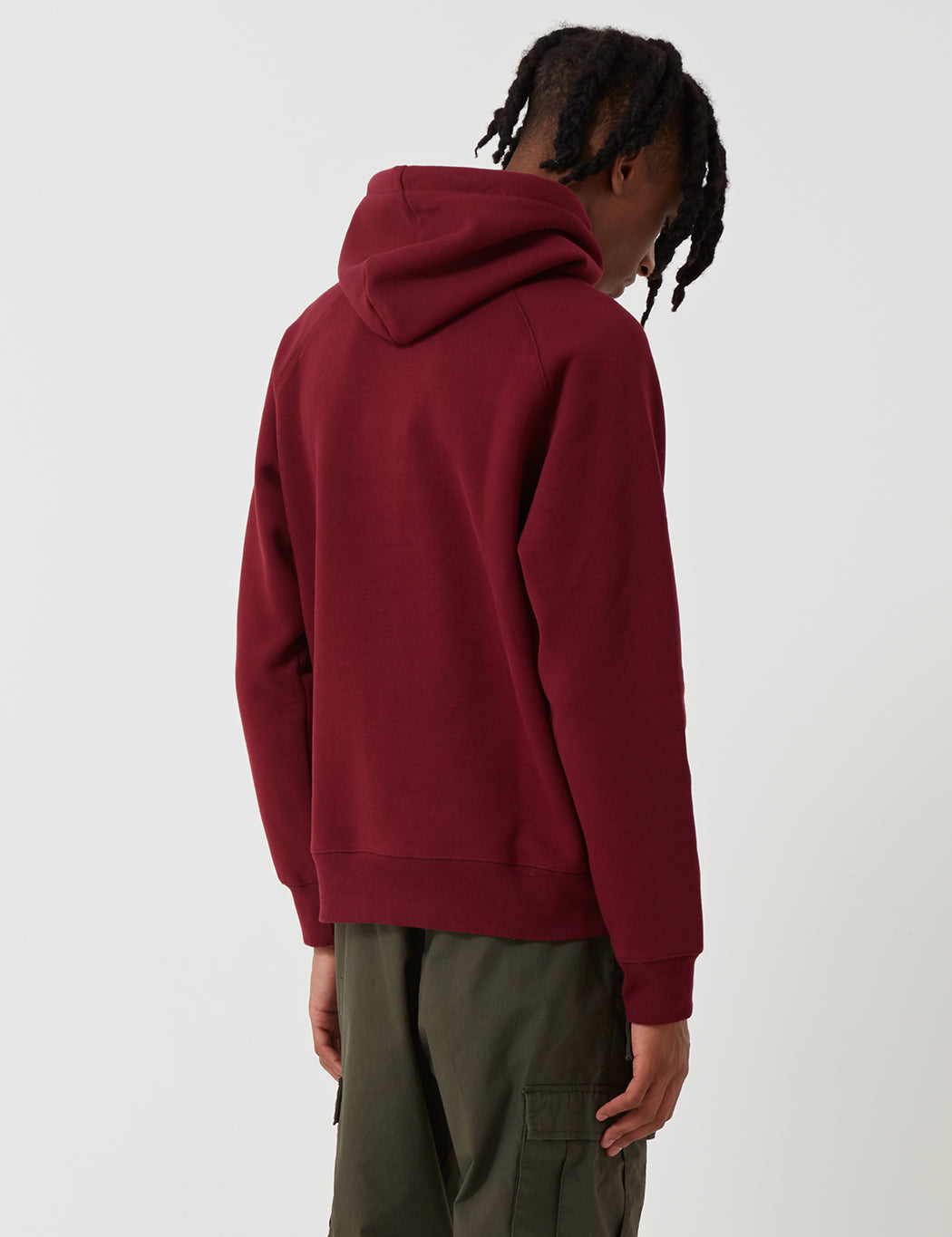 Carhartt Chase Hooded Sweatshirt - Mulberry