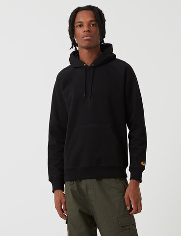 Carhartt Chase Hooded Sweatshirt - Black