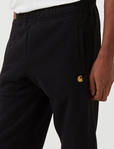 Carhartt-WIP Chase Sweat Pant - Black