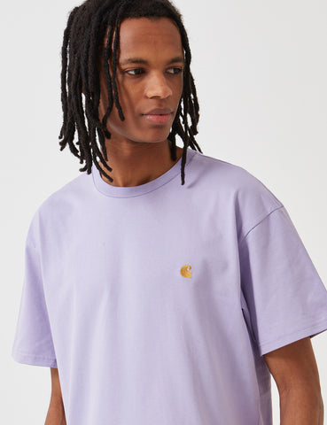 Carhartt Chase T-Shirt - Soft Lavender
