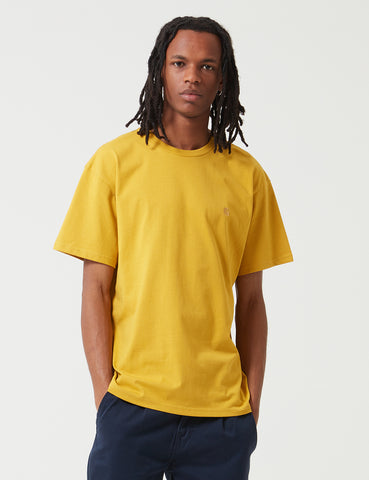 Carhartt-WIP Chase T-Shirt - Colza Yellow