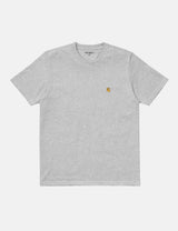 Carhartt-WIP Chase T-Shirt - Ash Heather Grey