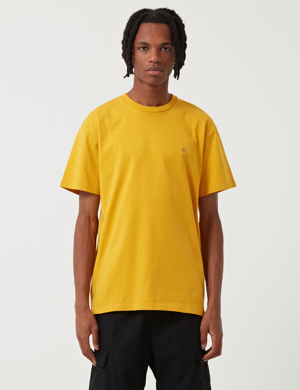 Carhartt-WIP Chase T-Shirt - Quince Yellow