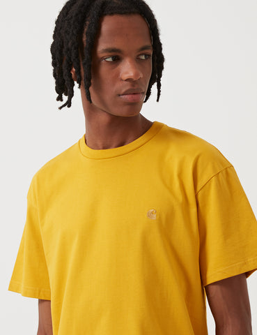 Carhartt Chase T-Shirt - Quince Yellow