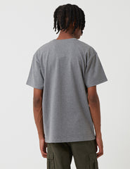 Carhartt Chase T-Shirt - Dark Grey Heather