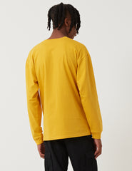 Carhartt Chase Long Sleeve T-Shirt - Quince Yellow