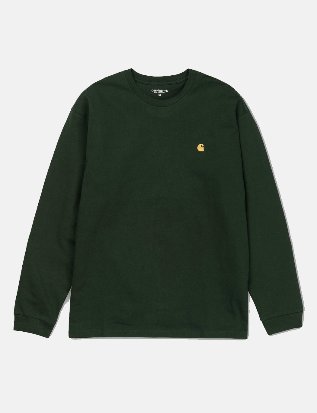 Carhartt Chase Long Sleeve T-Shirt - Loden Green