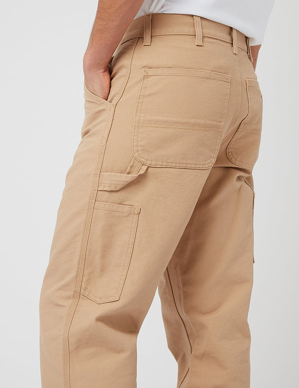 Pantalon Carhartt-WIP Single Knee - Dusty Hamilton Brown rinsed