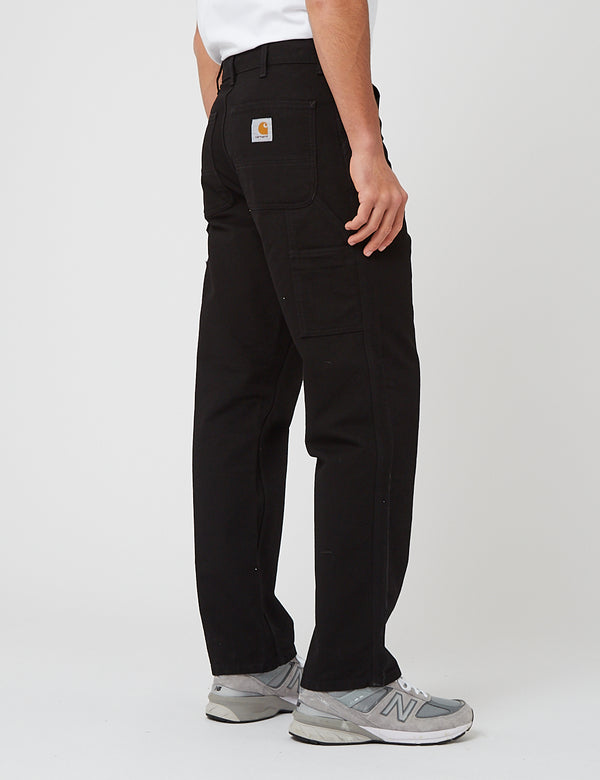 Pantalon Carhartt-WIP Single Knee - Black rinsed