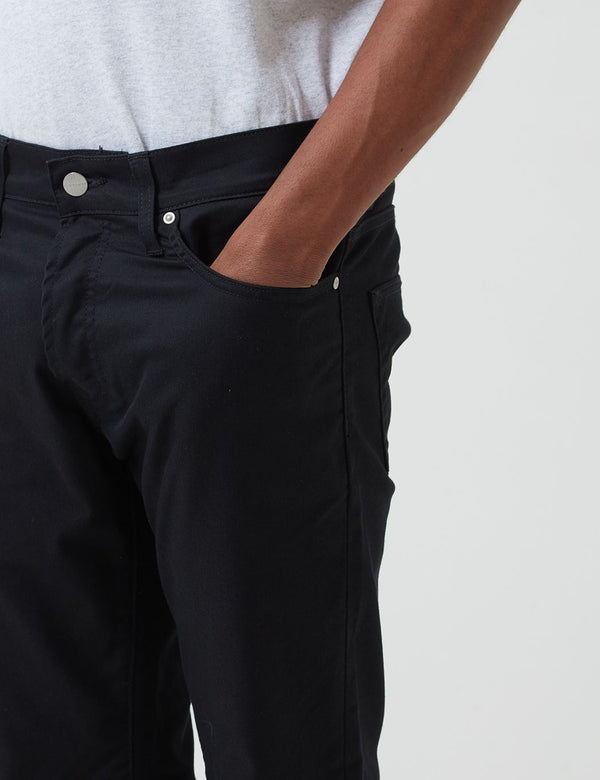 Carhartt-WIP Klondike Pant (Regular Tapered) - Black Rinsed