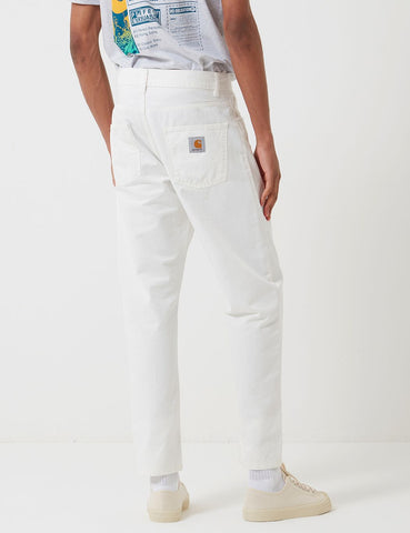 Carhartt-WIP Newel Pant (Relaxed Tapered) - Off-White
