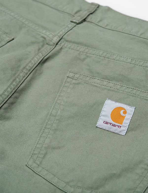 Pantalon Carhartt-WIP Newel (Relaxed Tapered) - Dollar Green