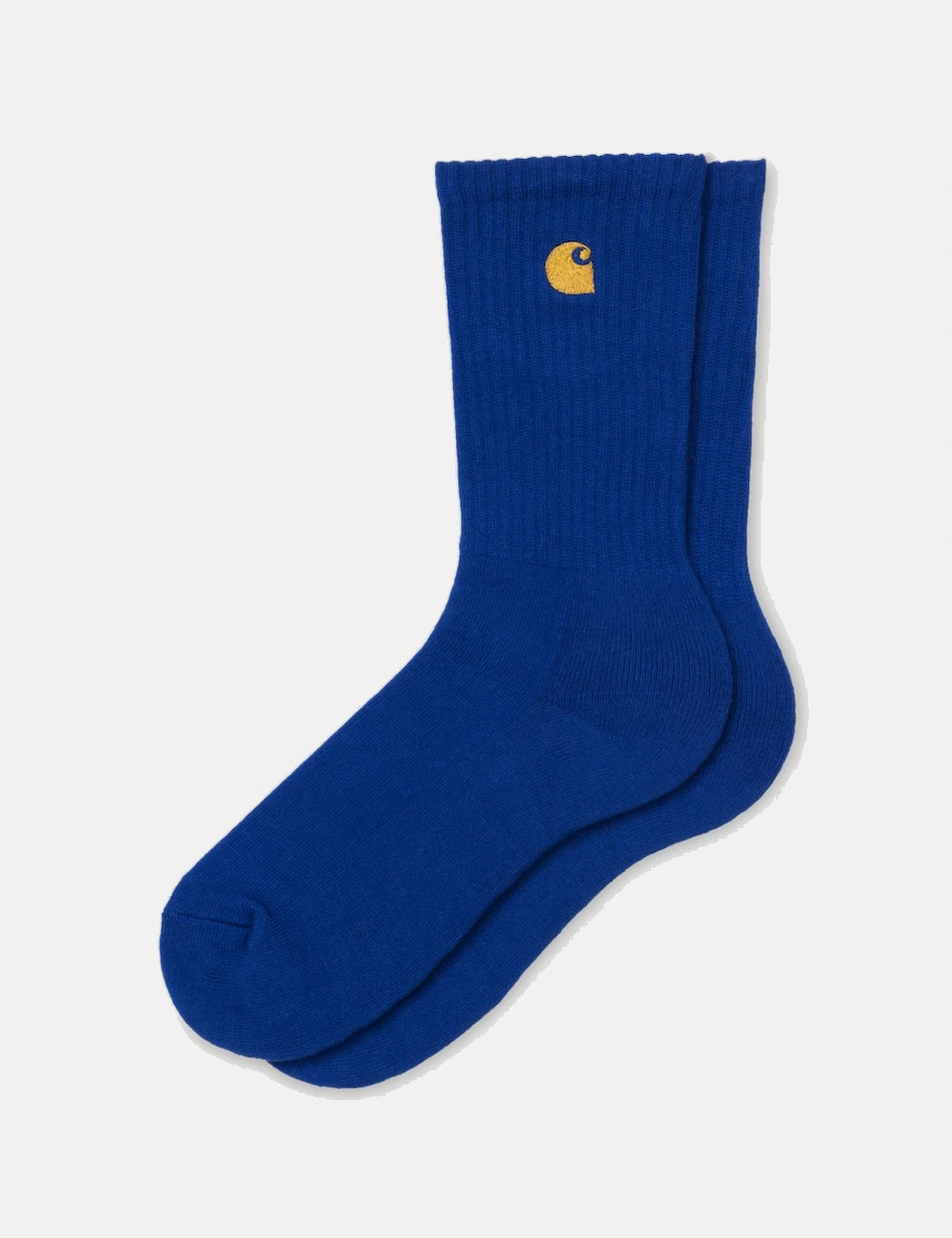 Carhartt-WIP Chase Socks - Thunder Blue/Gold | URBAN EXCESS.