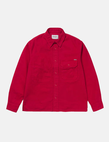 Carhartt Reno Shirt (Loose Fit) - Cardinal Red