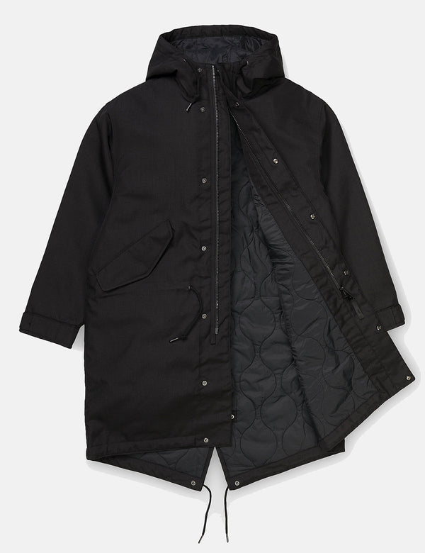 Womens Carhartt-WIP Addison Parka - Black