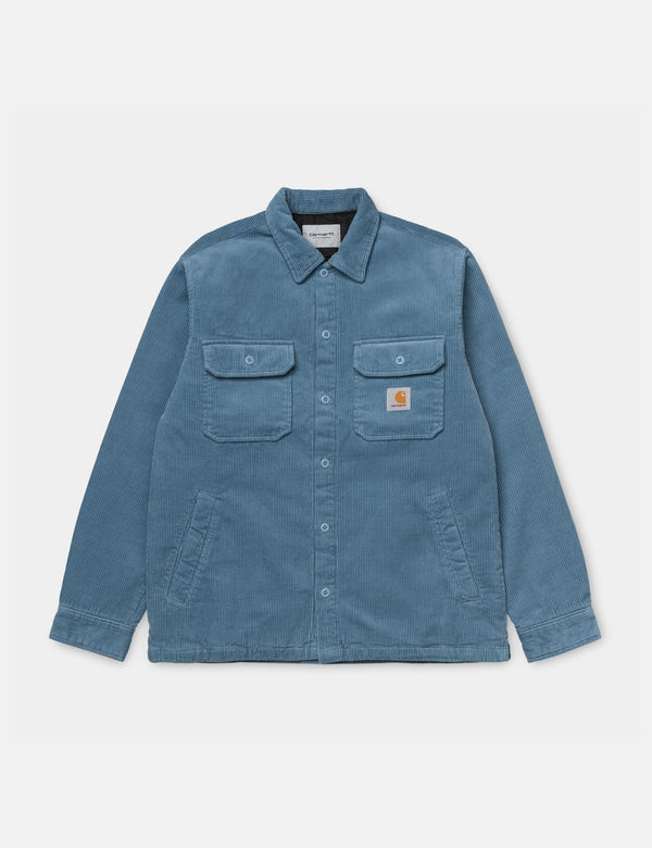 Carhartt-WIP Whitsome Shirt Jacket - Cold Blue