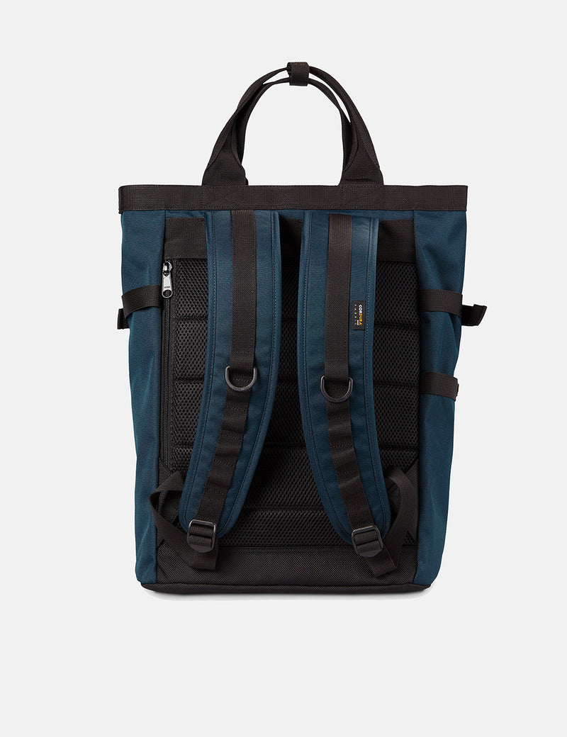 Carhartt-WIP Payton Carrier Backpack - Admiral Blue/Black