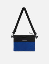 Carhartt-WIP Dexter Strap Bag - Black/Thunder Blue