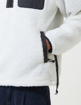 Carhartt-WIP Prentis Fleece Pullover - Wax White