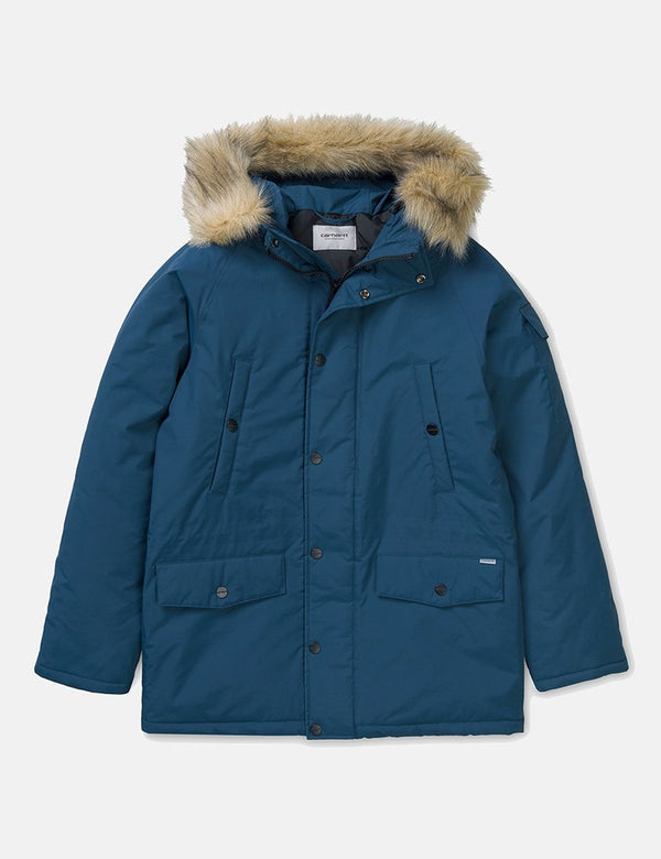 Carhartt-WIP Anchorage Parka - Entenblau