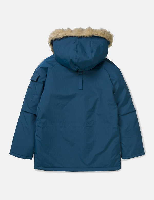 Carhartt-WIP Anchorage Parka - Duck Blue