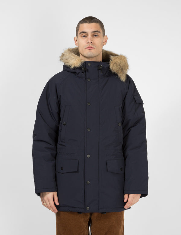 Carhartt-WIP Anchorage Parka - Dark Navy / Schwarz