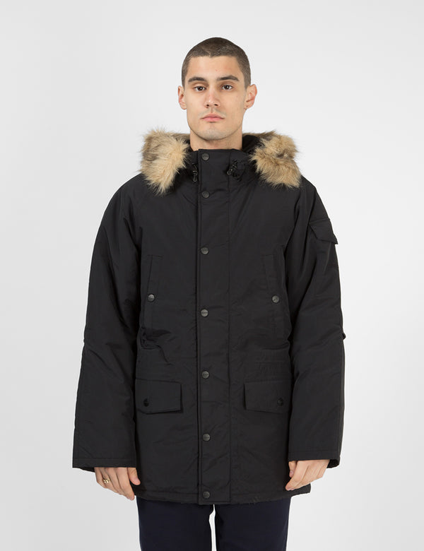 Carhartt-WIP Anchorage Parka - Black / Black
