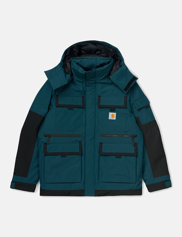 Carhartt-WIP Hendon Jacket - Duck Blue/Black