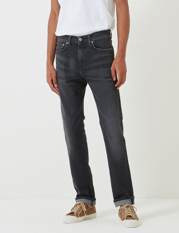 Edwin ED-80 CS Ayano Black Denim Jeans - Kioko Wash