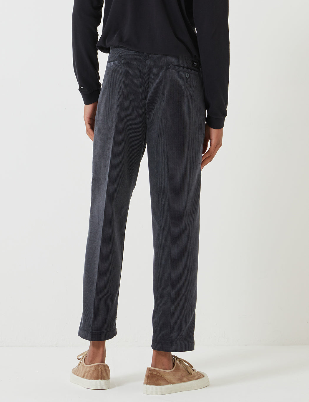 cheapest price multiple colors reasonably priced Edwin Zoot Chino (Corduroy) - Ebony