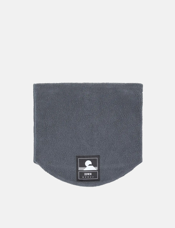 Edwin Neck Warmer - Ebony Black