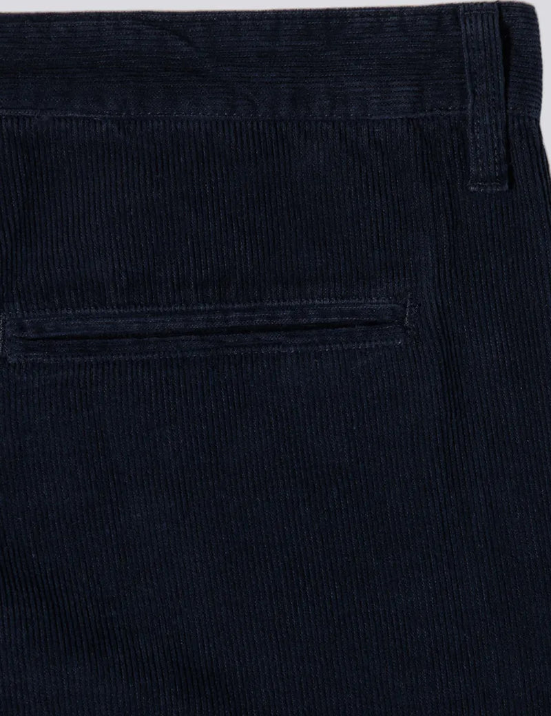 Edwin ED-55 Cords (Regular Tapered) - Indigo Blue