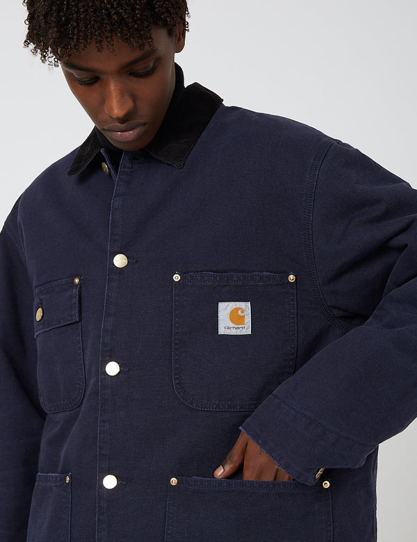 Carhartt-WIP OG Chore Coat (Organic Cotton) - Dark Navy Blue