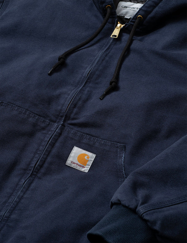 Carhartt-WIP OG Active Jacket (Organic Cotton) - Aged, Dark Navy Blue